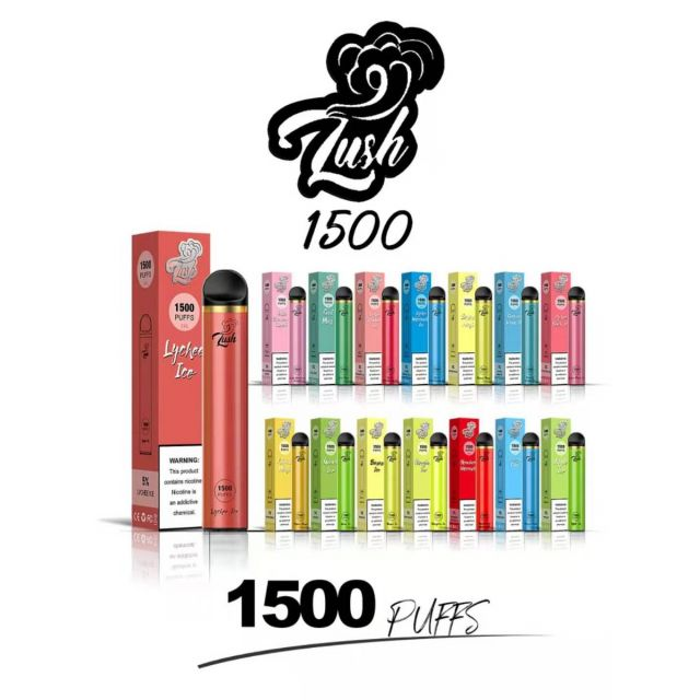 Lush 1500 Puffs Disposable - Pack of 10