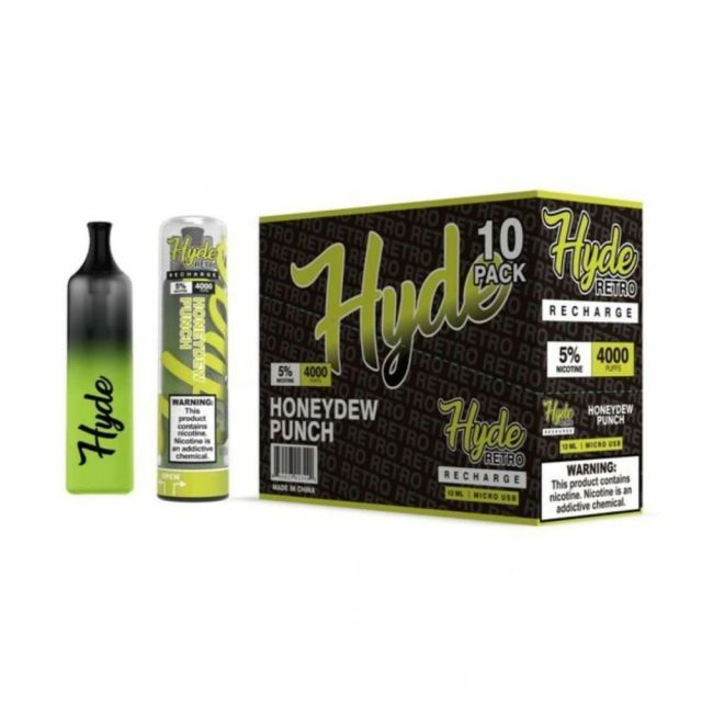Hyde Retro Recharge Disposable 10-Pack