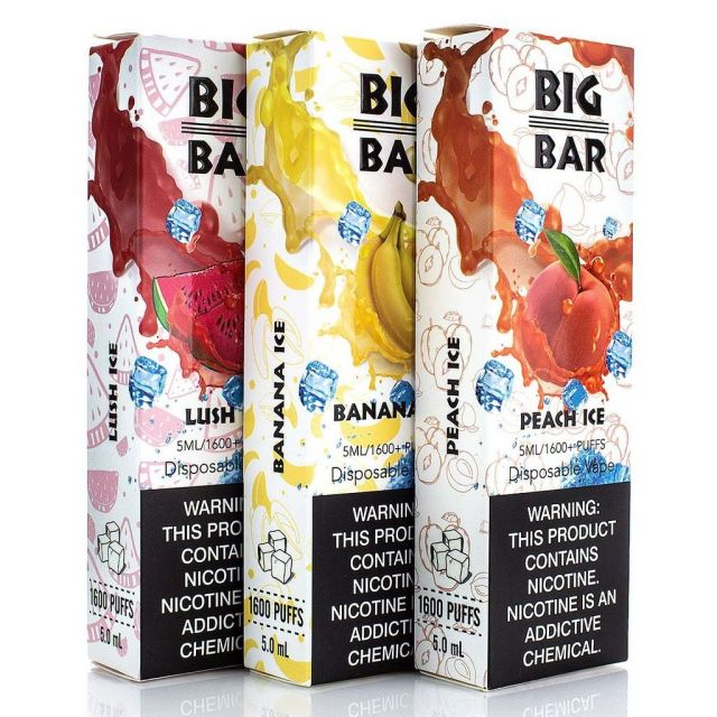 Big Bar 1600 Puffs Single Disposable Wholesale