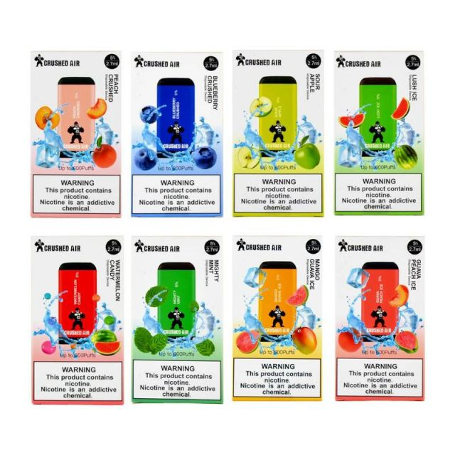 Crushed Air Single Disposable 2.7mL Wholesale