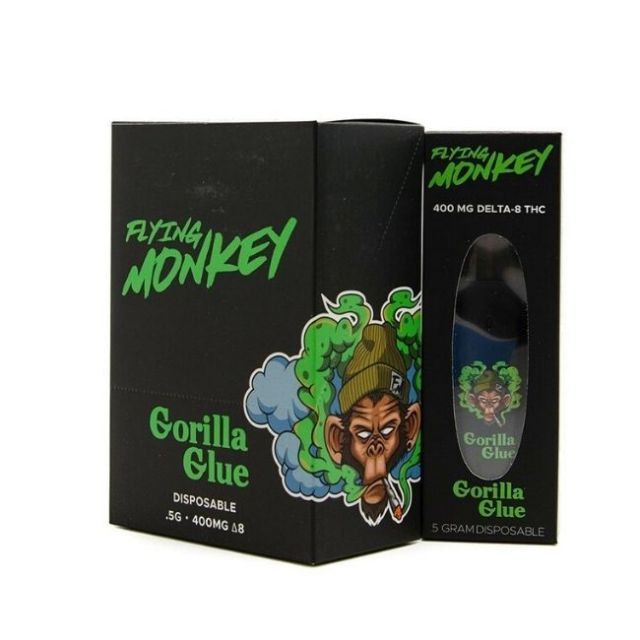 Flying Monkey Delta 8 Disposable Display of 6 Wholesale