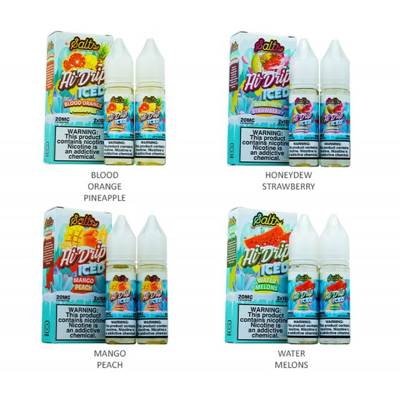 Hi-Drip Salts Series 30mL Wholesale