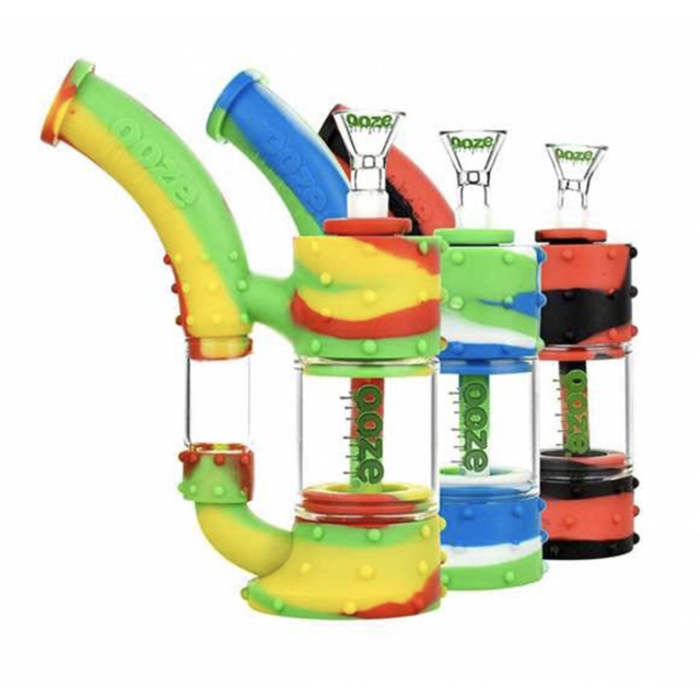 Ooze Stack Pipe Silicone Bubbler Wholesale