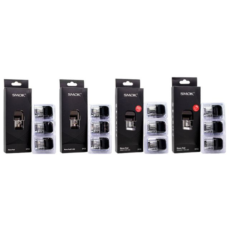 SMOK Novo Pods 3 Pack Wholesale