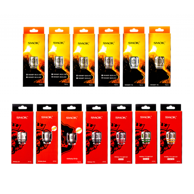 SMOK TFV8 Baby Coils 5 Pack Wholesale