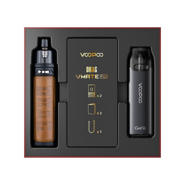 VooPoo Drag X and Vmate Pod Limited Edition Kit Wholesale