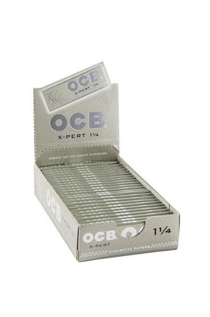 OCB X-Pert Rolling Papers 1 1/4 50 Count Display of 24 Wholesale